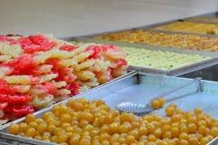 Bonbons orientaux à Jérusalem Photographie stock libre de droits