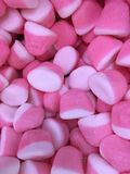 Bonbons roses ? gel?e photos stock