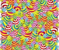 Bonbons sans joint à guimauve de fond Image stock