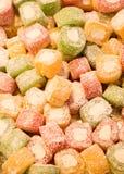 Bonbons traditionnels à plaisir turc de tabouret Photo libre de droits