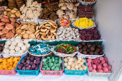Bonbons traditionnels en Equateur Images libres de droits