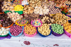 Bonbons traditionnels en Equateur Photo libre de droits