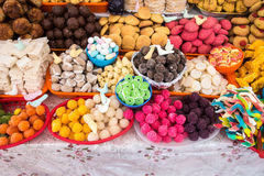 Bonbons traditionnels en Equateur Photographie stock