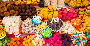Bonbons traditionnels en Equateur Photo stock