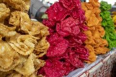 Bonbons traditionnels orientaux de pâte, fin  photo stock