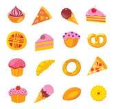 Bonbons u. Bäckereiset Lizenzfreies Stockbild