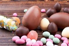 Bonbons und besprühen Punktglas Lizenzfreies Stockfoto