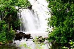 Bond Falls. In Michigan's Upper Peninsula Stock Photography