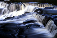 Bond Falls. Upper Michigan and its natural waterfalls are abound through out the region stock images
