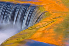 Bond Falls Cascade Stock Image