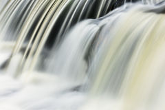 Bond Falls Cascade. Captured with motion blur, Michigan's Upper Peninsula, USA royalty free stock photography