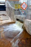 Bond Falls Flowage Dam Royalty Free Stock Photos