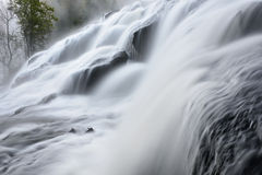 Bond Falls in Fog Stock Photos