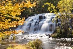 Free Bond Falls In Autumn - Upper Peninsula Of Michigan Royalty Free Stock Images - 96699089