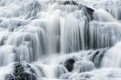 Bond Falls. Landscape of Bond Falls captured with motion blur, Michigan's Upper Peninsula, USA Stock Images