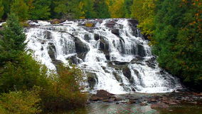 Bond Falls Michigan Upper Peninsula stock footage