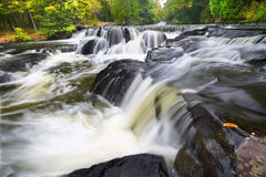 Bond Falls Northwoods Michigan Royalty Free Stock Photography