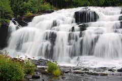 Bond Falls, Ontonagen River, Michigan. Bond Falls on the Middle Branch Ontonagen River in Michigans Upper Peninsula Stock Photo