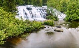 Bond Falls. In Upper Peninsula, Michigan. Long exposure Stock Photos