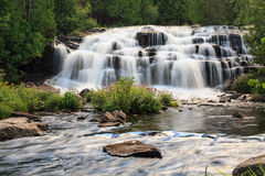 Bond Falls in the Upper Peninsula of Michigan Stock Photography