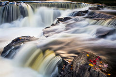 Bond Falls Whitewater Stock Image