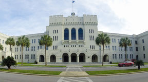 Bond Hall, The Citadel, Charleston, SC. Royalty Free Stock Images