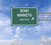 Bond market royalty free stock images