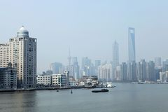 The Bond in Shanghai,China stock photography