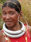bonda部族妇女 免版税库存照片