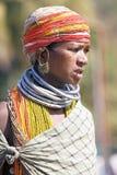 bonda部族妇女 免版税图库摄影