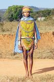 Bonda tribal woman Stock Photos