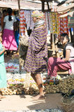 Bonda woman in the Onokudelli Market Stock Images