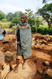 Bonda woman at their village. Stock Photo