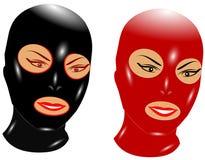 Bondage  masks Stock Images