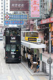Bonde de Hong Kong Fotografia de Stock