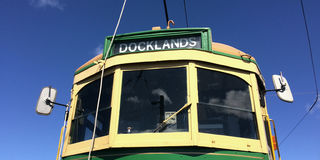 Bonde do quarto de Auckland Dockline Wynyard Fotografia de Stock