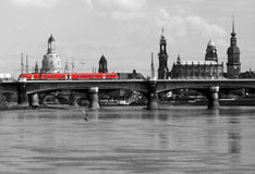 Bonde em Dresden Imagem de Stock Royalty Free