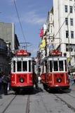 Bonde em Istambul, Turquia Imagens de Stock