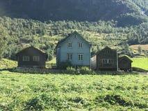 Bonde Houses Arkivbilder