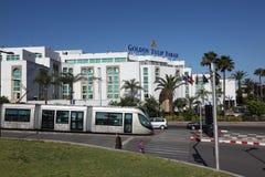 Bonde moderno em Rabat, Marrocos Imagens de Stock Royalty Free