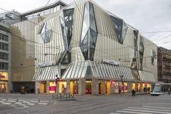 Bonde no lugar Homme de Fer em Strasbourg, França Imagens de Stock Royalty Free