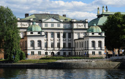 Bonde palace in Stockholm Stock Photos
