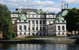 Bonde slott i Stockholm Arkivfoton