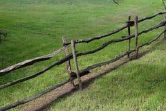 Bonde staket Arkivfoto