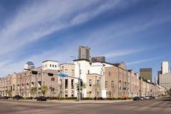 Bondemarknadsfyrkant i Dallas arkivbild