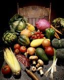 bondemarknadsgrönsaker Arkivfoto