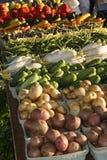Bondemarknadsjordbruksprodukter Royaltyfri Fotografi