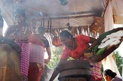 Bonderam 2016年节日在果阿,印度3 免版税图库摄影