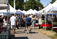 Bondes marknad i Chicago, Illinois Royaltyfria Foton