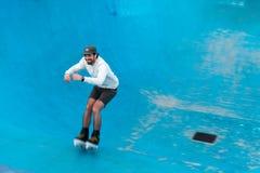 Bondi冰鞋公园 库存图片